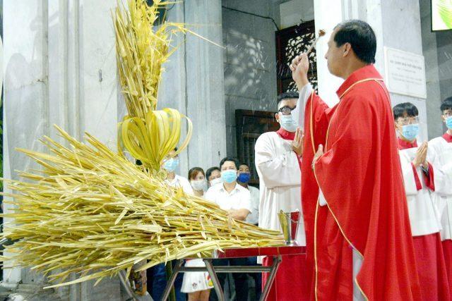 Giáo xứ Vĩnh Hòa: Chúa nhật lễ Lá 2021