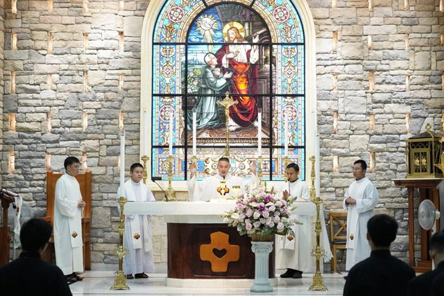 Happy 15th Years Anniversary of Priesthood of Fr. Francis Vu Tran, the District Superior