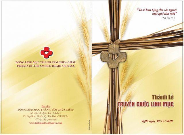 Trực Tuyến – Thánh Lễ TRUYỀN CHỨC LINH MỤC