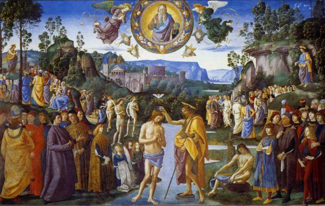 CN.Chúa Giêsu chịu phép rửa.A Dìm mình xuống…